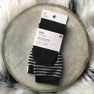 Lululemon Light On Your Toes Sock in Black S/M NWT